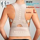 "TEG533M - für T-Shirt Größe ""L"" - medizinisch orthopädischer Rückenstabilisator"