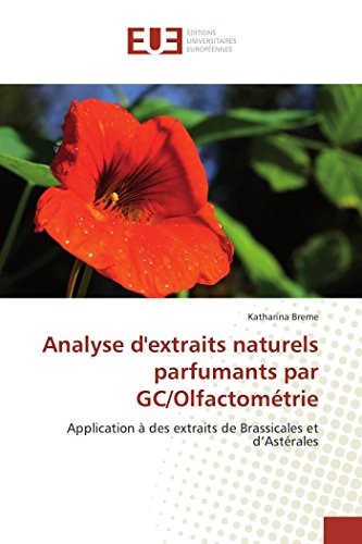 Analyse d'extraits naturels parfumants par gc/olfactométrie