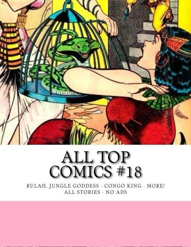 All Top Comics #18: Rulah, Jungle Goddess - Phantom Lady - (Sexy Comics Superhelden)