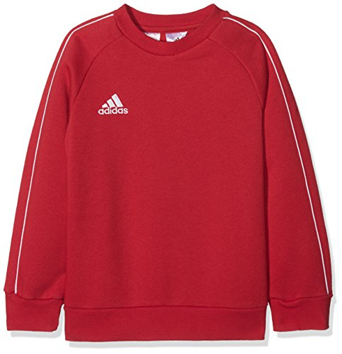 adidas Kinder Core18 SW Top Y Sweat-Shirt, Rot (power red/White), XL (13-14 Jahre) - Roten Sweatshirt Top