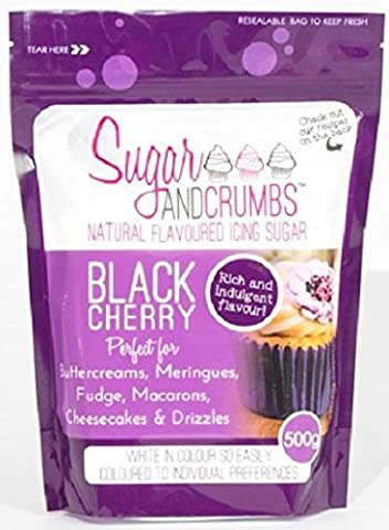 Black Cherry Natural Flavoured Icing Sugar for Cakes and Bakes