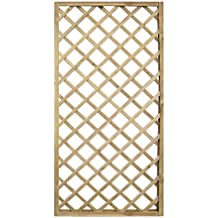 Pannello in legno Rettangolare ECO impregnato in autoclve a rete da esterno giardino recinzioni divisori 120x180 cm EV