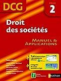 Droit des sociétés - épreuve 2 - DCG manuel (French Edition)