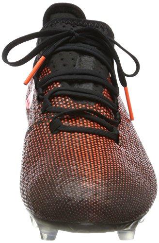 Scarpette Da Calcio Adidas Mens X 17.2 Fg Multicolor (nucleo Nero / Rosso Solare / Arancione Solare)