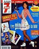 TELE 7 JOURS [No 2328] du 08/01/2005 - LES PIN-UP DE LA TELE - JAMAIS VU - CALENDRIER + 16 PAGES - MISS FRANCE 2005 - A LA MANIERE D'AMERICAN GRAFFITTI, CINDY FABRE, RETRO ROCK'N ROLL, DANS NOS STUDIOS - STAR ACADEMY - TENDRE INTERVIEW - GREGORY PAR LUCIE - LETTRE A SOLENN - PAR VERONIQUE POIVRE D'ARVOR - 13 STARS - GLAMOUR ET SEXY POSENT POUR VOUS.