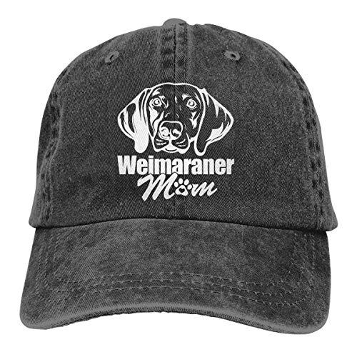 TEPEED Weimaraner Mom Unisex Baseball Cap Cowboy Hat Dad Hats Trucker Hat Weimaraner-baseball-cap