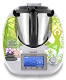 "Thermomix Aufkleber Sticker Stickerdream ""Green Garden"" - Made in Germany (TM5)"