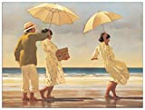 Artopweb Pannelli Decorativi Vettriano The Picnic Party Quadro, Legno, Multicolore, 80x1.8x60 cm
