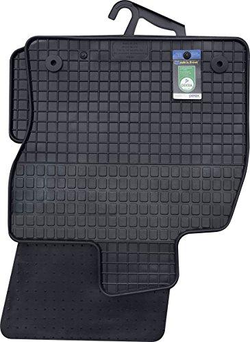 PETEX 61510 Gummimatte VW 11/2012 Variant 08/2013 / Golf VII Alltrack ab 04/2015-passgenaue Auto Gummi Fußmatte 4-teilig