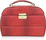#6: AVMART Designer1 Makeup, Jewellery, Multi Purpose Vanity Box Jewellery Box Vanity Box (Red)