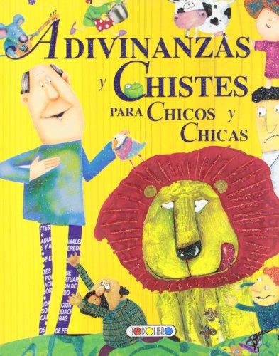 Adivinanzas y chistes para chicos y chicas (Mis primeros libros) por Todolibro