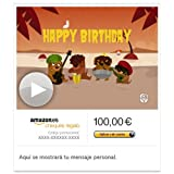 Cheque Regalo de Amazon.es - E-mail - Cumpleaños Reggae (animación)