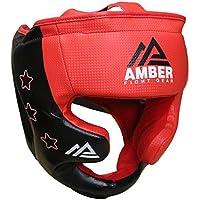 Amber Fight Gear Boxing MMA Kickboxing Headgear