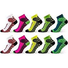 Sesto Senso Calcetines deportivos de algodón, calcetines cómodos en colores de moda (4,