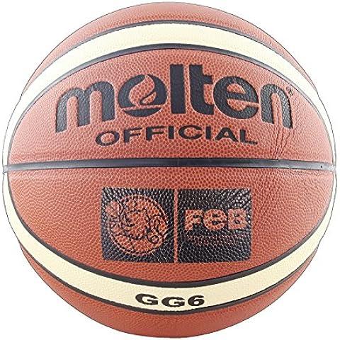 Molten BGG6 - Balón de baloncesto, color naranja, tamaño 6