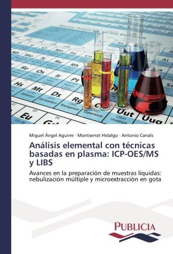 Análisis elemental con técnicas basadas en plasma: ICP-OES/MS y LIBS: Avances en la preparación de muestras líquidas: nebulización múltiple y microextracción en gota