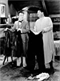 Posterlounge Leinwandbild 120 x 160 cm: Dick & Doof: Die tapferen Schotten von Everett Collection - fertiges Wandbild, Bild auf Keilrahmen, Fertigbild auf Echter Leinwand, Leinwanddruck