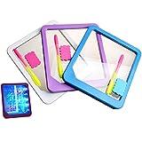 Dxlta LED-Licht Fluoreszierend Schreibens-Brett Kinder Elektronisch Lumineszierend Wordpad Nachrichtenbrett Handschrift-Pad