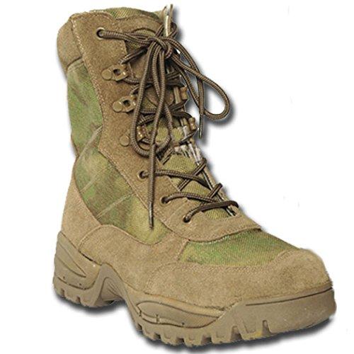MILTEC Militärkappe Amphibien Teesar a-tacs Foliage, A-TACS FOLIAGE