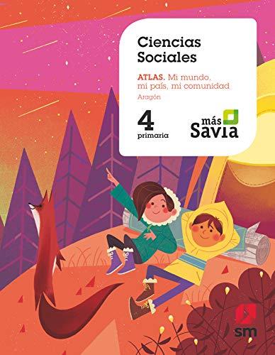 Ciencias sociales. 4 Primaria. Mas Savia. Aragón