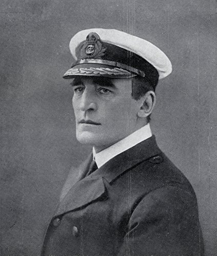 ics - Admiral Of The Fleet Sir Reginald Yorke Tyrwhitt 1St Baronet Of Terschelling And Of Oxford 1870 To 1951. Admiral Of The Royal Navy In World War I. From The Illustrated War News 1915. Photo Print (66,04 x 76,20 cm) ()
