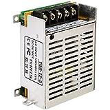 niceEshop(TM) LED 12V 2.5A 5V 2A Transformateur Alimentation pour LED Caméra de Surveillance(Argent)