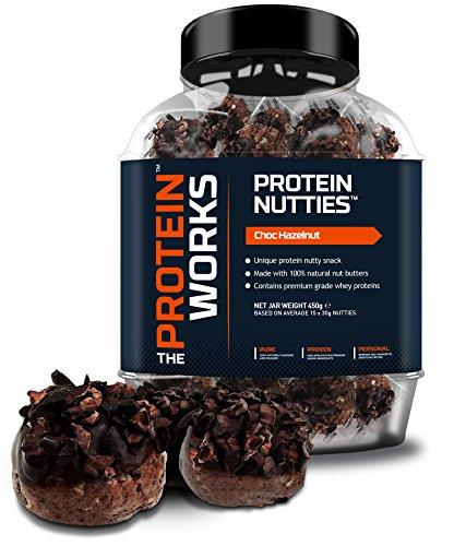 Sfere Pralinate Proteiche di The Protein Works - Spuntino Proteico alle Noci con Burro di (Burro Biologico Nocciola)