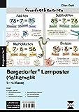 Lernposter Mathematik 1.-4. Klasse: 6 Poster für den Klassenraum (Bergedorfer Lernposter)