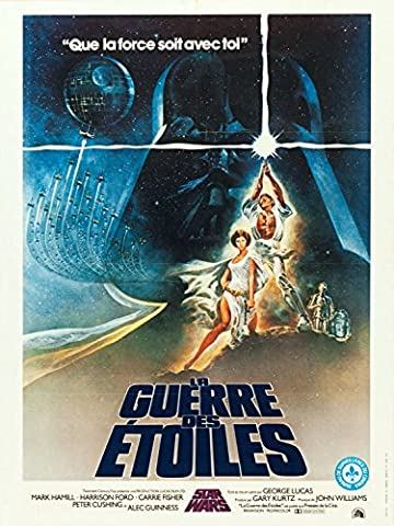 La Guerre Des Etoiles reproduction photo affiche du film 40 x 30 cm