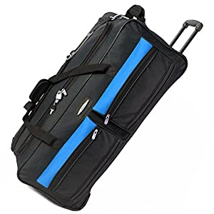 Jeep Large 34 Inch Wheeled Luggage Bags - 5 Years Warranty!