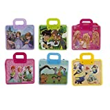 #7: Parteet Cartoon Printed Handle Bags - Pack of 6 for Kids