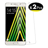 NEW'C Verre Trempé pour Samsung Galaxy A5 2016 (SM-A510),[Pack de 2] Film Protection écran - Anti Rayures - sans Bulles d'air -Ultra Résistant (0,33mm HD Ultra Transparent) Dureté 9H Glass