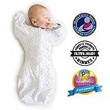 Amazing Baby by SwaddleDesigns, sacco nanna in cotone con braccia