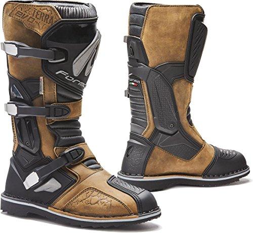 Forma Bottes Moto Terra Evo WP Homologuee CE Marron T42