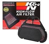 K & N Ya-6001filtre à air de rechange pour Yamaha YZF R699–05; YZF R6s 06–09(Powersports filtres...