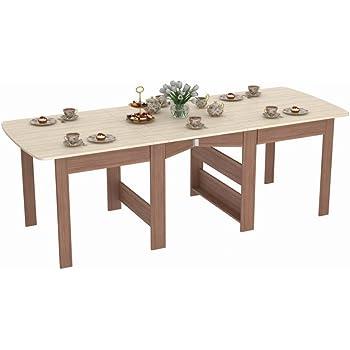 Rodnik Klappbarer Tisch - Klapptisch Sonoma Eiche mit
