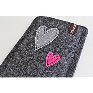 Handytasche - Handyhülle - Samsung Galaxy S7 - aus hochwertigem Wollfilz - Schutz vor Kratzern & Schmutz