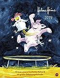Helme Heine Edition - Kalender 2019 - Heye-Verlag - Wandkalender mit Geburtstagskalender - 34 cm x 44 cm