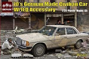 Bronco dP 35013-1 german 70'/ 35 w/car fabriqué civilian dei diopark accessaries