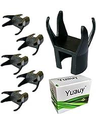Yuauy 5pcs 4-claw pelota de Golf Retriever Pinza para poner en Putter agarre Grabber Pick Up Back Saver