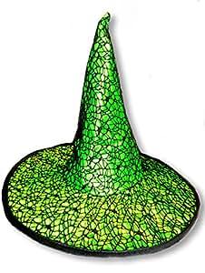 Sorcière gothique chapeau vert