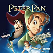 #12 Coloring Book Peter Pan: Stress Relief, Adult Relaxation 100pgs
