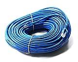 link-e ®: Kabel Netzwerkkabel blau Ethernet RJ4570m CAT. 6Qualität Pro, Internetverbindung Box, TV, PC...