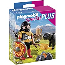 Playmobil Special Plus 4769 - Bárbaro con perro (4769) - Playmobil Bárbaro con perro, Juguete A partir de 4