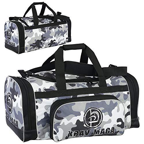 Krav Maga Schwarz Sport Duffel Ausrüstung Tasche - Camo Edition Neu -