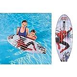 Vetrineinrete Tavola da surf gonfiabile spiderman bestway per bambini gioco mare piscina 114x46 cm giochi bimbi divertimento spiderman idea regalo E13