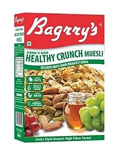 Bagrry's Almond n Raisin Healty Crunch Muesli, 400g