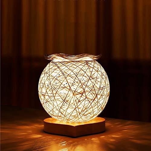 Luces de noche Lámpara de Aceite Esencial de aromaterapia Luz LED de noche en el dormitorio Luz de noche en el dormitorio Luz del sueño del bebé Lámpara de alimentación de ojo Lámpara / 140 × 140 × 15