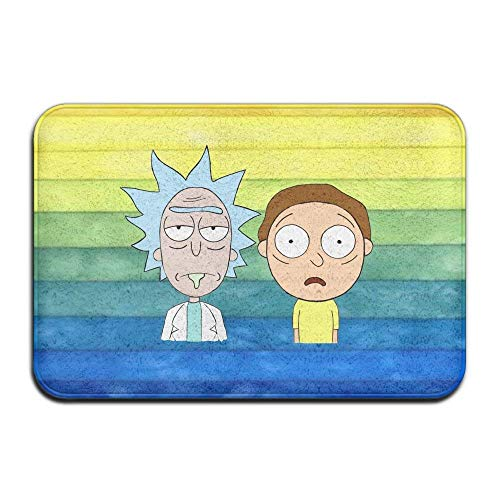 Rick and Morty Non-Slip Entrance Indoor/Outdoor/Front Door/Bathroom Ma