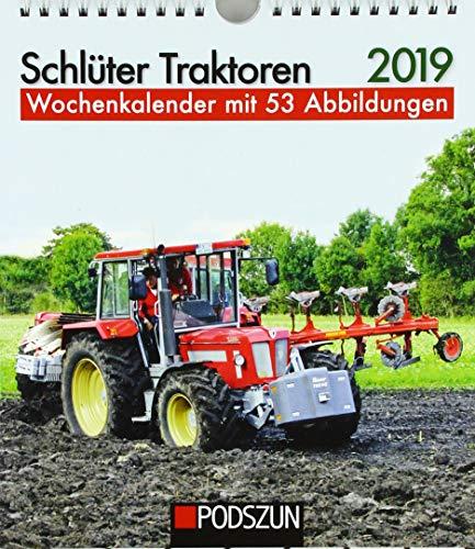 Schlüter Traktoren 2019: Wochenkalender mit 53 Fotografien